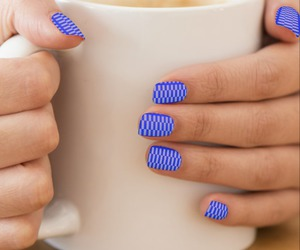 abstract, fashion, and nails sticker image