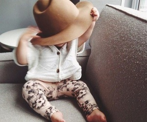 baby, fashionista, and hat image