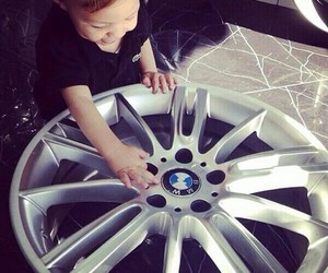 bmw, baby, and car image