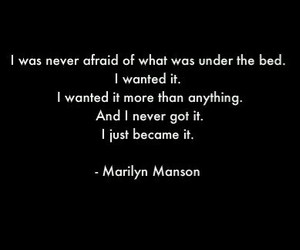 Marilyn Manson and quotes image