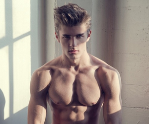 fashion, guy, and muscles image