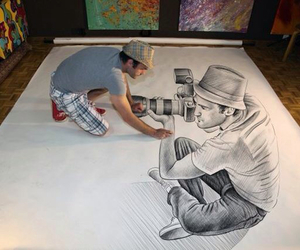 drawing, art, and 3d image