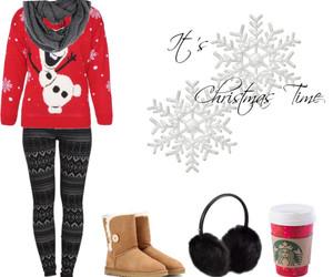 christmas, girl, and jingle bells image