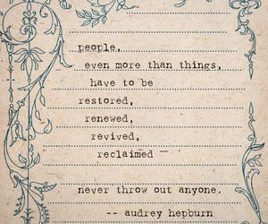 audrey hepburn, inspirational, and inspire image