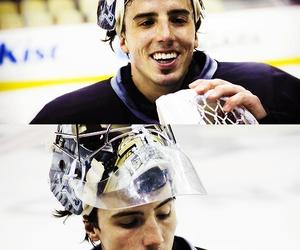 flower, hockey, and ice image