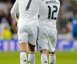 real madrid, marcelo, and cristiano image