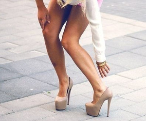 beige, clothes, and fancy image