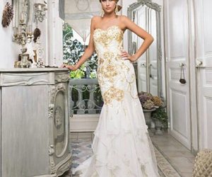 beautiful, dress, and miss france image