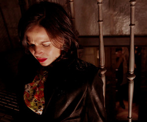 once upon a time, the evil queen, and swan queen image