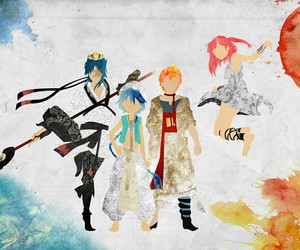 magi, aladdin, and anime image