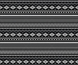 aztec, black and white, and cool image