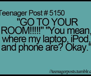funny, ipod, and laptop image