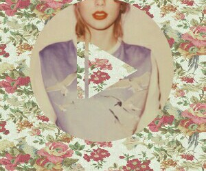 1989, flowers, and music image
