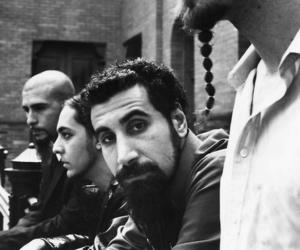 soad, system of a down, and black and white image