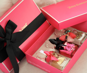 pink, perfume, and juicy couture image