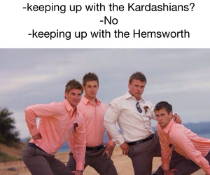 funny and hemsworth image