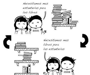 books, libros, and readers image