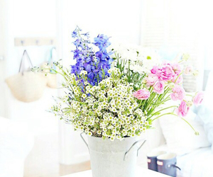 fresh, white, and flowers image