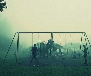 childhood, mist, and something image