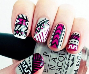 desing, colours, and nails image