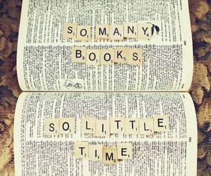 book, time, and quote image