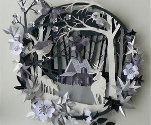 art, Paper, and paper art image