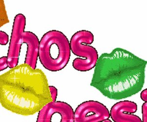 Besos, colores, and labios image