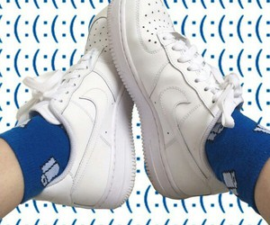 nike, art, and shoes image