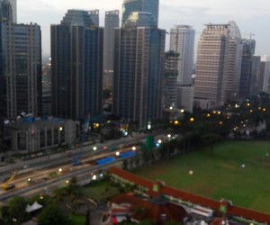jakarta, morning, and Sunday image