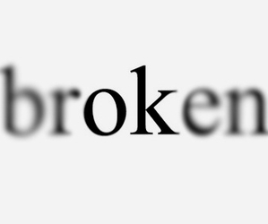 broken, ok, and quote image