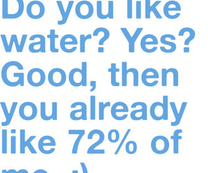 water, love, and like image