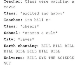 bill nye the science guy, funny, and science image