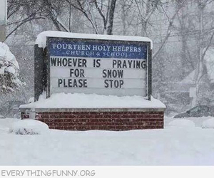funny, snow, and lol image