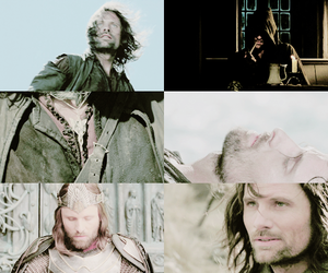 aragorn, king, and the lord of the rings image