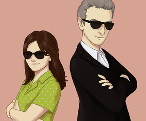 clara, doctor who, and fanart image