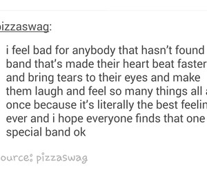bands, tumblr post, and love image