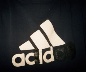 acid, adidas, and grunge image