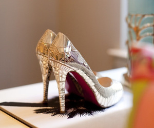 heels, silver, and perfect image