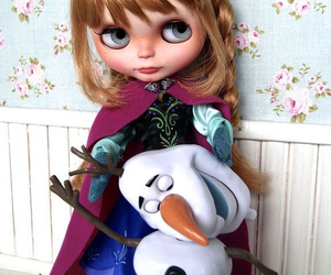 anna, blythe, and disney image