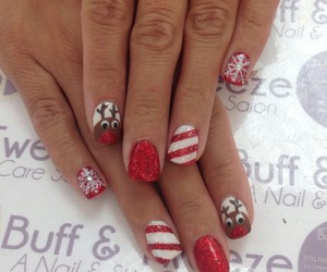 christmas nails image