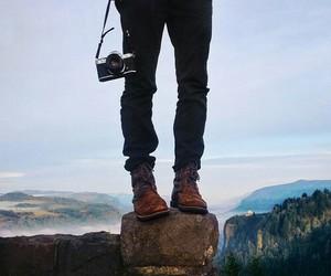 boy, camera, and casual image