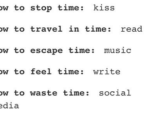 kiss, quote, and read image