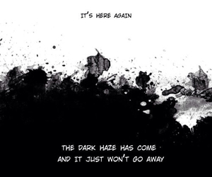 manga, Darkness, and quotes image