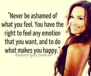 demi lovato, quote, and emotions image