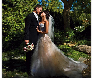wedding, channing tatum, and jenna dewan image