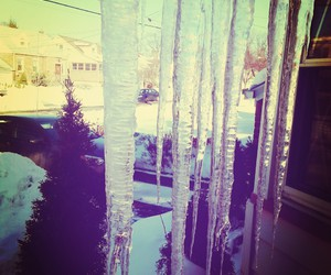 cold, frozen, and icicles image