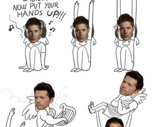 destiel, supernatural, and Jensen Ackles image