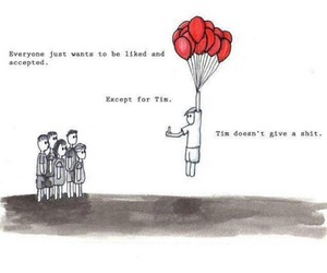 funny, tim, and quotes image