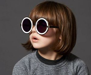 fashion, kids, and sunglasses image