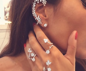 classy, rings, and diamonds image